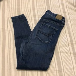 AE blue jeans